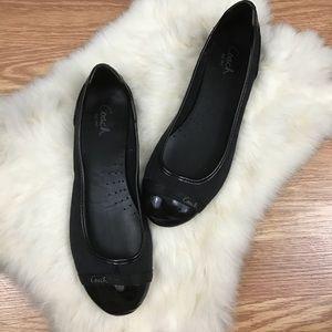 Coach | Classic C Print Ballet Flat Shoes